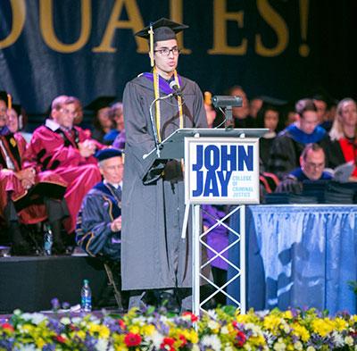 John Jay 2016 valedictorian Albin Lepiz