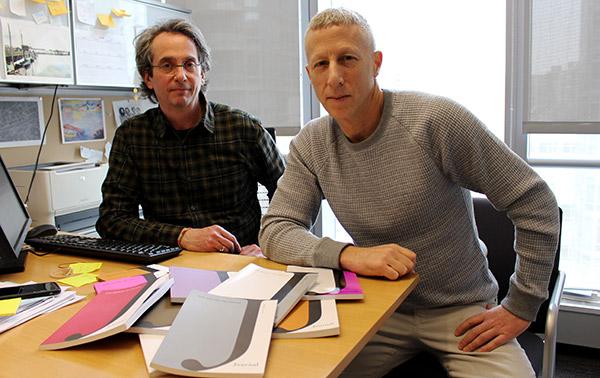 J Journal editors Jeffrey Heiman and Adam Berlin