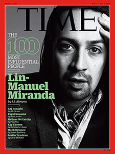 Lin Manuel Times Cover