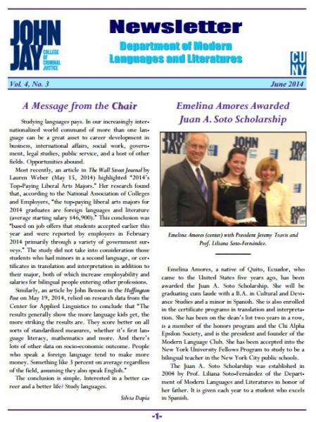 Newsletter June 2014