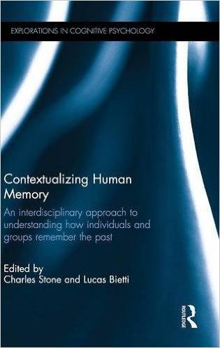Contextualizing Human Memory book cover