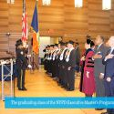Celebrating Our Second NYPD Executive Master's Program in Criminal Justice Graduation